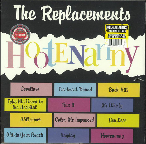 View larger image of The Replacements – Hootenanny (Vinyl)