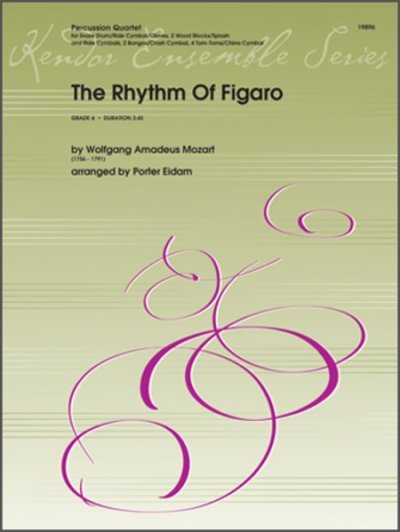 View larger image of The Rhythm of Figaro - Percussion Quartet