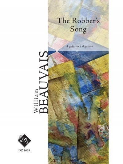 View larger image of The Robber's Song (Beauvais) - Guitar Quartet
