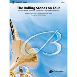 The Rolling Stones on Tour - Score & Parts, Grade 3