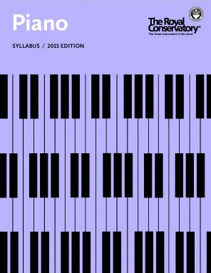 View larger image of The Royal Conservatory Piano Syllabus - 2015 Edition