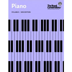 The Royal Conservatory Piano Syllabus - 2015 Edition