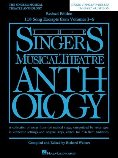 "View larger image of The Singer's Musical Theatre Anthology – ""16-Bar"" Audition - Mezzo-Soprano/Belter"