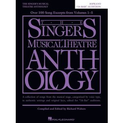 "The Singer's Musical Theatre Anthology – ""16-Bar"" Audition - Soprano"