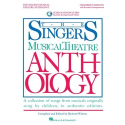 The Singers Musical Theatre Anthology – Childrens Ed w/Online Audio