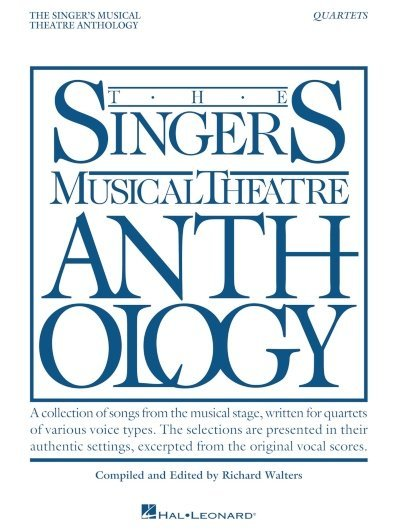 View larger image of The Singer's Musical Theatre Anthology - Quartets