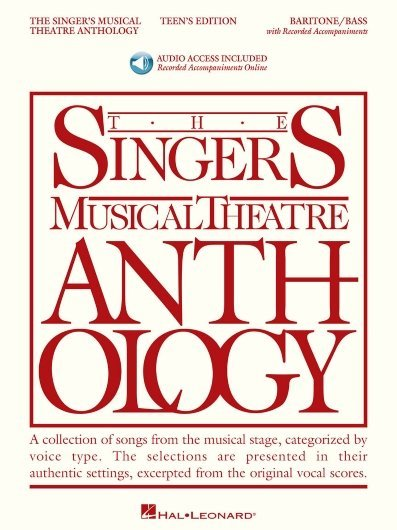 View larger image of The Singer's Musical Theatre Anthology - Teen's Edition - Baritone/Bass (w/Online Audio)