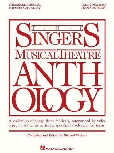 View larger image of The Singer's Musical Theatre Anthology Teen's Edition - Baritone/Bass