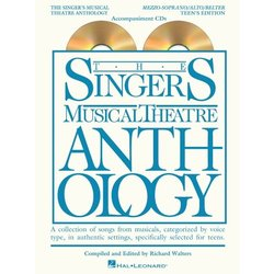 The Singer's Musical Theatre Anthology - Teen's Edition - Mezzo-Soprano/Alto/Belter - Accompaniment CDs