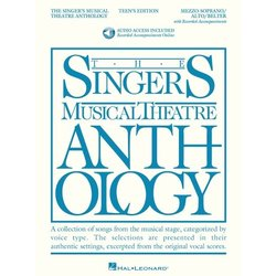 The Singer's Musical Theatre Anthology - Teen's Edition - Mezzo-Soprano/Alto/Belter (w/Online Audio)
