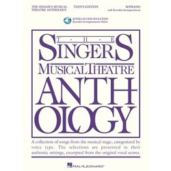 The Singer's Musical Theatre Anthology - Teen's Edition - Soprano (w/Online Audio)