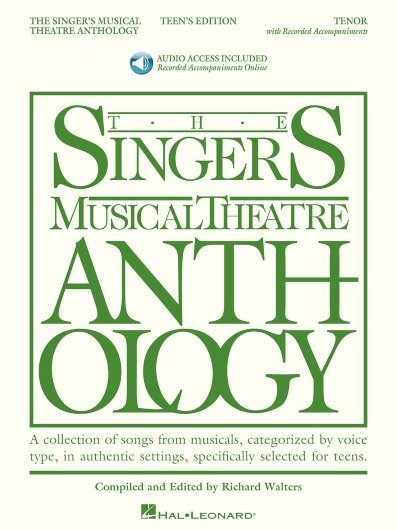 View larger image of The Singer's Musical Theatre Anthology – Teen's Edition - Tenor (w/Online Audio)