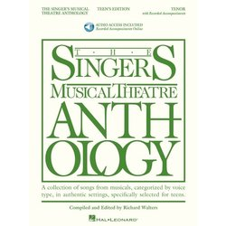 The Singer's Musical Theatre Anthology – Teen's Edition - Tenor (w/Online Audio)