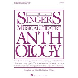 The Singer's Musical Theatre Anthology - Vocal Trios
