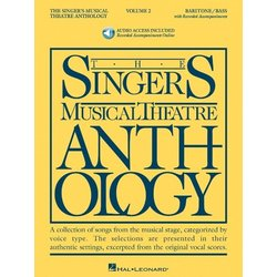 The Singer's Musical Theatre Anthology Vol.2 - Baritone/Bass (w/Online Audio)