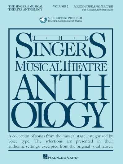 View larger image of The Singer's Musical Theatre Anthology Vol.2 - Mezzo-Soprano (w/Online Audio)