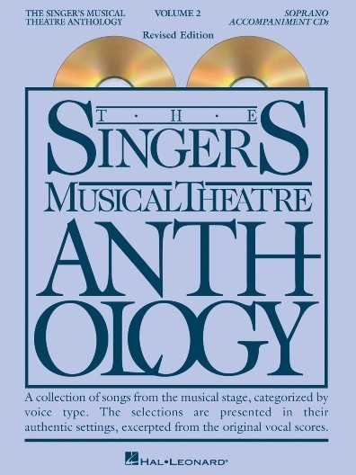 View larger image of The Singer's Musical Theatre Anthology Vol.2 - Soprano (Accompaniment CDs)