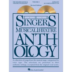 The Singer's Musical Theatre Anthology Vol.2 - Soprano (Accompaniment CDs)