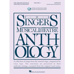 The Singer's Musical Theatre Anthology Vol.2 - Soprano (w/Online Audio)