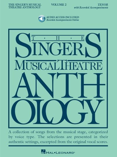 View larger image of The Singer's Musical Theatre Anthology Vol.2 - Tenor (w/Online Audio)