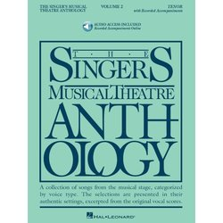 The Singer's Musical Theatre Anthology Vol.2 - Tenor (w/Online Audio)
