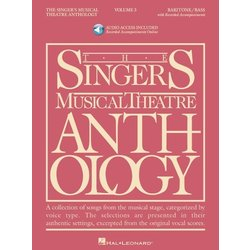 The Singer's Musical Theatre Anthology Vol.3 - Baritone/Bass (w/Online Audio)