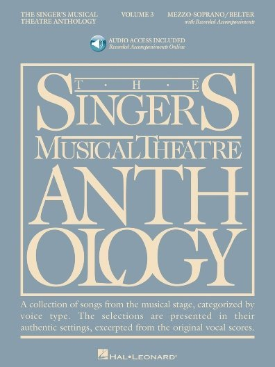View larger image of The Singer's Musical Theatre Anthology Vol.3 - Mezzo-Soprano (w/Online Audio)