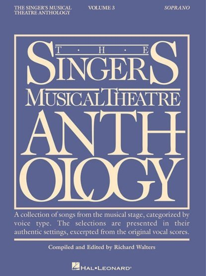 View larger image of The Singer's Musical Theatre Anthology Vol.3 - Soprano