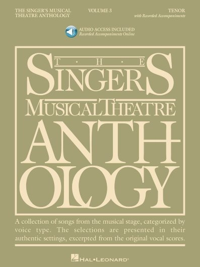 View larger image of The Singer's Musical Theatre Anthology Vol.3 - Tenor (w/Online Audio)