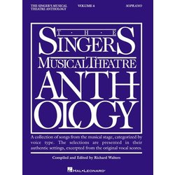 The Singer's Musical Theatre Anthology Vol.4 - Soprano