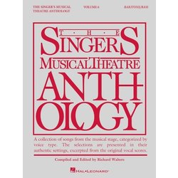 The Singer's Musical Theatre Anthology Vol.6 - Baritone/Bass