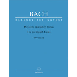 The Six English Suites BWV 806-811 - Bach