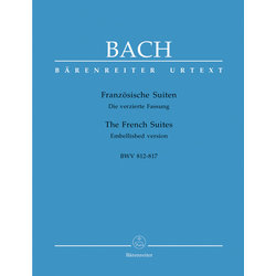 The Six French Suites BWV 812-817 - Bach
