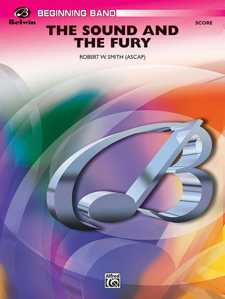 View larger image of The Sound and the Fury - Score & Parts, Grade 1