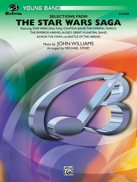 View larger image of The Star Wars Saga - Selections, Score & Parts, Grade 2.5