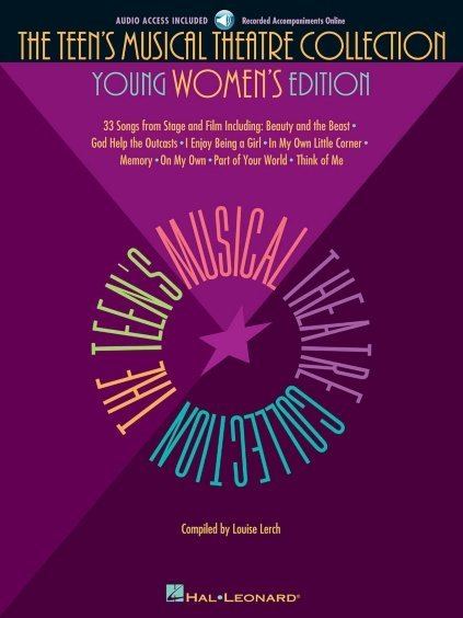 View larger image of The Teen's Musical Theatre Collection - Young Womens Edition  w/Online Audio