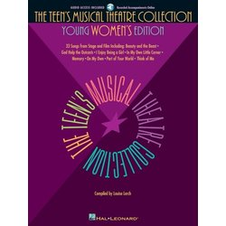 The Teen's Musical Theatre Collection - Young Womens Edition  w/Online Audio