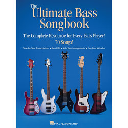 The Ultimate Bass Songbook - The Complete Resource for Every Bass Player