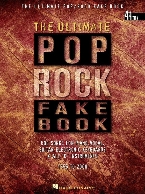 View larger image of The Ultimate Pop/Rock Fake Book 4th Edition - C Edition