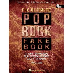 The Ultimate Pop/Rock Fake Book 4th Edition - C Edition