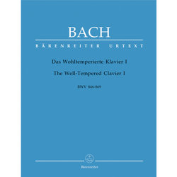 The Well-Tempered Clavier I BWV 846-869 - Bach