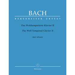 The Well-Tempered Clavier II BWV 870-893 - Bach