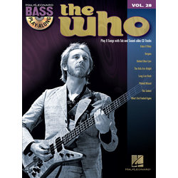 The Who - Bass Play-Along Volume 28 w/CD