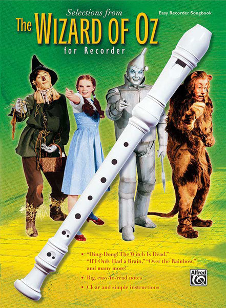 View larger image of The Wizard of Oz for Recorder