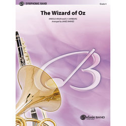 The Wizard of Oz - Medley, Score & Parts, Grade 4