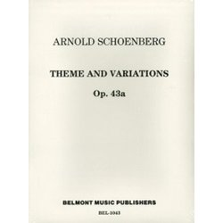 Theme and Variations for Windband Op. 43a - Score