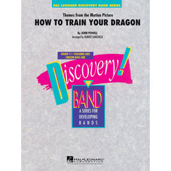 Themes from How to Train Your Dragon - Score, Grade 1.5