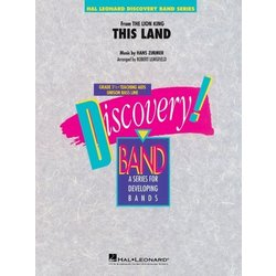 This Land (The Lion King) - Score & Parts, Grade 1.5