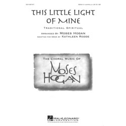 This Little Light of Mine, SSAA (A cappella) Parts