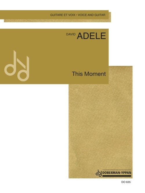 View larger image of This Moment (Adele) - Guitar & Voice Duet